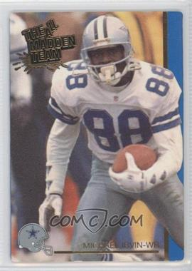 1991 Action Packed The All-Madden Team - [Base] #41 - Michael Irvin