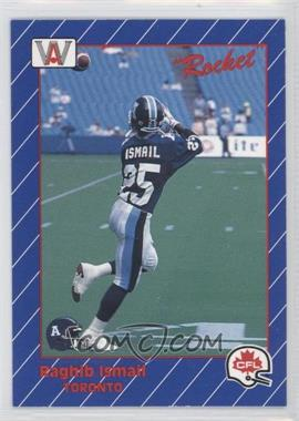 1991 All World CFL - [Base] #110 - Rocket Ismail
