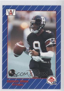 1991 All World CFL - [Base] #60 - Damon Allen