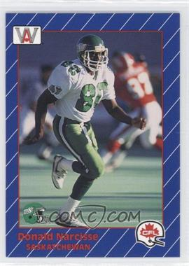 1991 All World CFL - [Base] #81 - Donald Narcisse