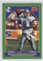 Troy Aikman (Green Border English)