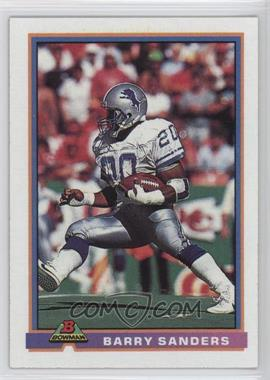 1991 Bowman - [Base] #153 - Barry Sanders