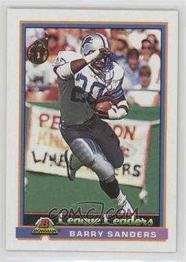 1991 Bowman - [Base] #273 - Barry Sanders