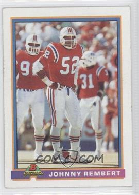1991 Bowman - [Base] #329 - Johnny Rembert