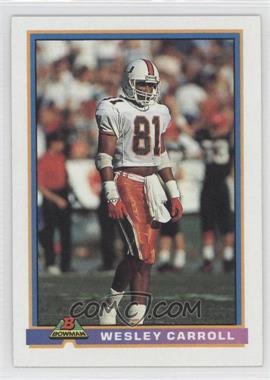 1991 Bowman - [Base] #355 - Wesley Carroll