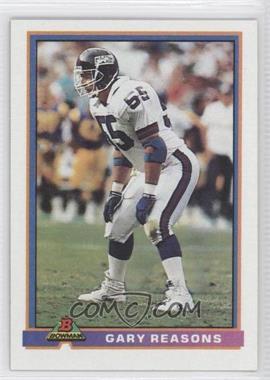 1991 Bowman - [Base] #366 - Gary Reasons