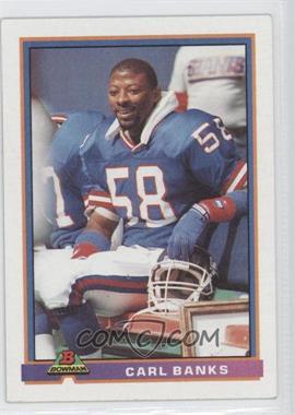 1991 Bowman - [Base] #373 - Carl Banks