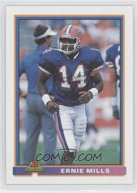 1991 Bowman - [Base] #432 - Ernie Mills