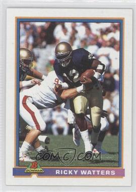 1991 Bowman - [Base] #489 - Ricky Watters