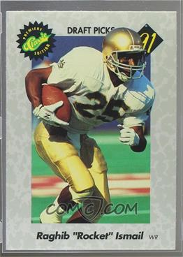 1991 Classic Draft Picks - [Base] #1 - Rocket Ismail