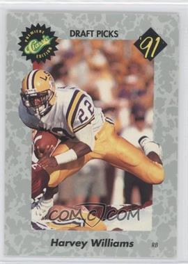 1991 Classic Draft Picks - [Base] #19 - Harvey Williams