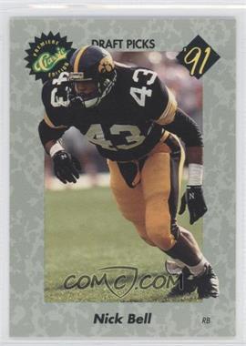 1991 Classic Draft Picks - [Base] #40 - Nick Bell