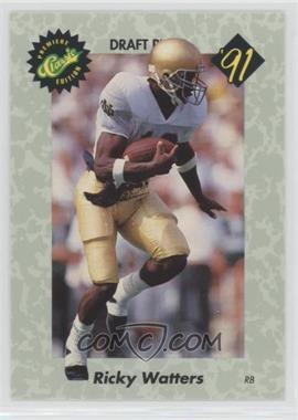 1991 Classic Draft Picks - [Base] #42 - Ricky Watters