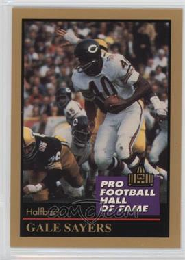 1991 Enor Pro Football Hall of Fame - [Base] #125 - Gale Sayers