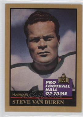 1991 Enor Pro Football Hall of Fame - [Base] #146 - Steve Van Buren