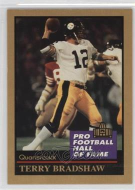 1991 Enor Pro Football Hall of Fame - [Base] #16 - Terry Bradshaw