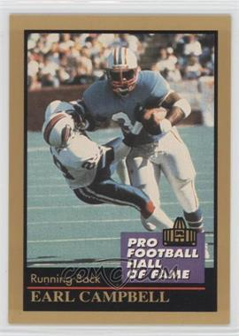 1991 Enor Pro Football Hall of Fame - [Base] #23 - Earl Campbell