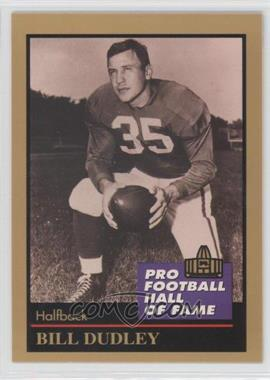 1991 Enor Pro Football Hall of Fame - [Base] #37 - Bill Dudley