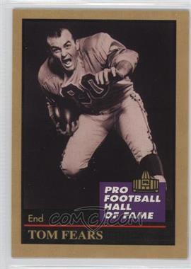 1991 Enor Pro Football Hall of Fame - [Base] #40 - Tom Fears