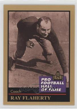 1991 Enor Pro Football Hall of Fame - [Base] #41 - Ray Flaherty
