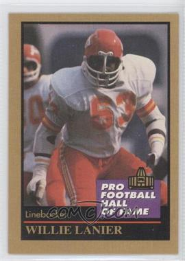1991 Enor Pro Football Hall of Fame - [Base] #83 - Willie Lanier