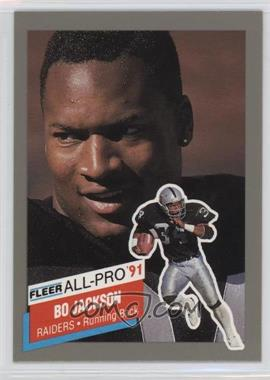 1991 Fleer - All-Pro #10 - Bo Jackson