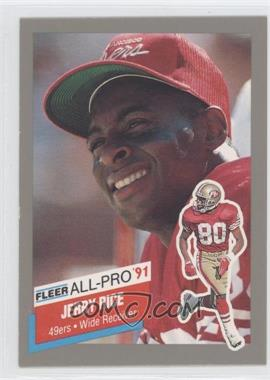 1991 Fleer - All-Pro #20 - Jerry Rice