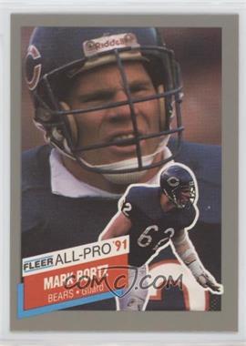 1991 Fleer - All-Pro #4 - Mark Bortz