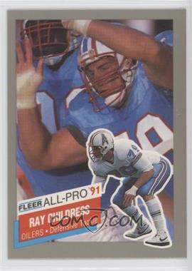 1991 Fleer - All-Pro #7 - Ray Childress