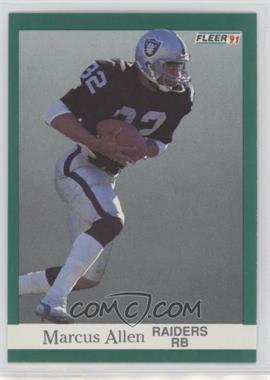 1991 Fleer - [Base] #102 - Marcus Allen