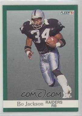 1991 Fleer - [Base] #110 - Bo Jackson