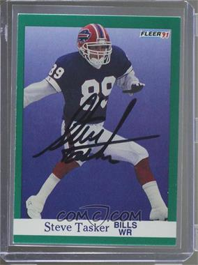 1991 Fleer -  Base   13 - Steve Tasker  JSA Certified COA Sticker ... 7b50de121