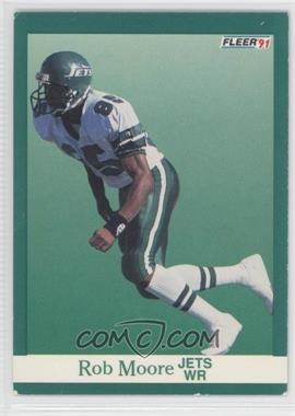 1991 Fleer - [Base] #153 - Rob Moore