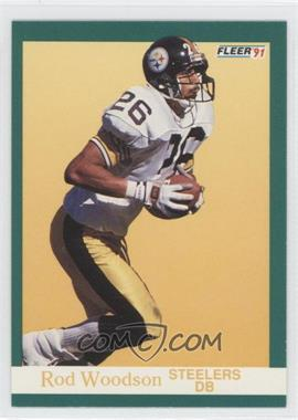 1991 Fleer - [Base] #168 - Rod Woodson