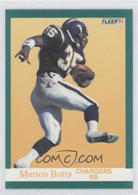 1991 Fleer - [Base] #171 - Marion Butts