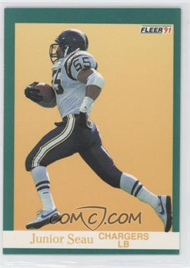 1991 Fleer - [Base] #179 - Junior Seau