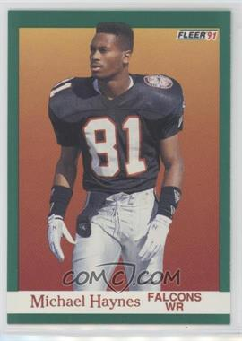 1991 Fleer - [Base] #202 - Michael Haynes