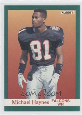 1991 Fleer - [Base] #202 - Michael Haynes