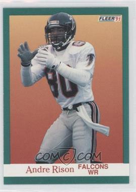 1991 Fleer - [Base] #208 - Andre Rison