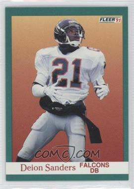 1991 Fleer - [Base] #210 - Deion Sanders