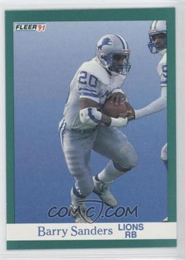 1991 Fleer - [Base] #247 - Barry Sanders