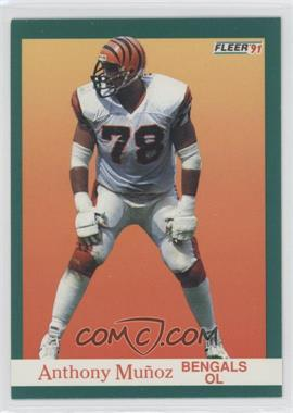 1991 Fleer - [Base] #26 - Anthony Munoz