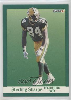 1991 Fleer - [Base] #261 - Sterling Sharpe