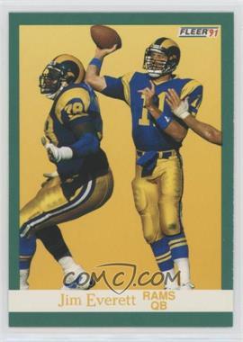 1991 Fleer - [Base] #267 - Jim Everett