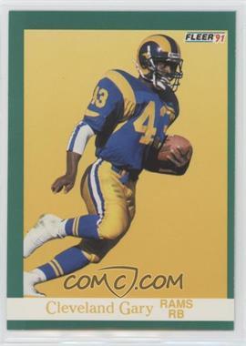 1991 Fleer - [Base] #268 - Cleveland Gary