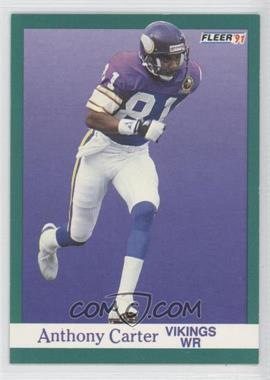 1991 Fleer - [Base] #279 - Anthony Carter