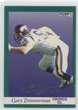 1991 Fleer - [Base] #290 - Gary Zimmerman