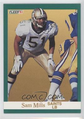 1991 Fleer - [Base] #301 - Sam Mills
