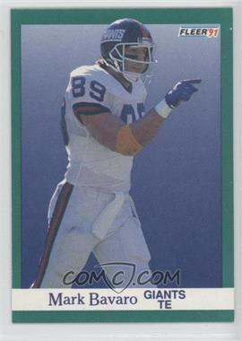 1991 Fleer - [Base] #307 - Mark Bavaro
