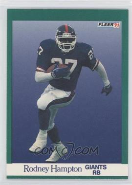 1991 Fleer - [Base] #311 - Rodney Hampton